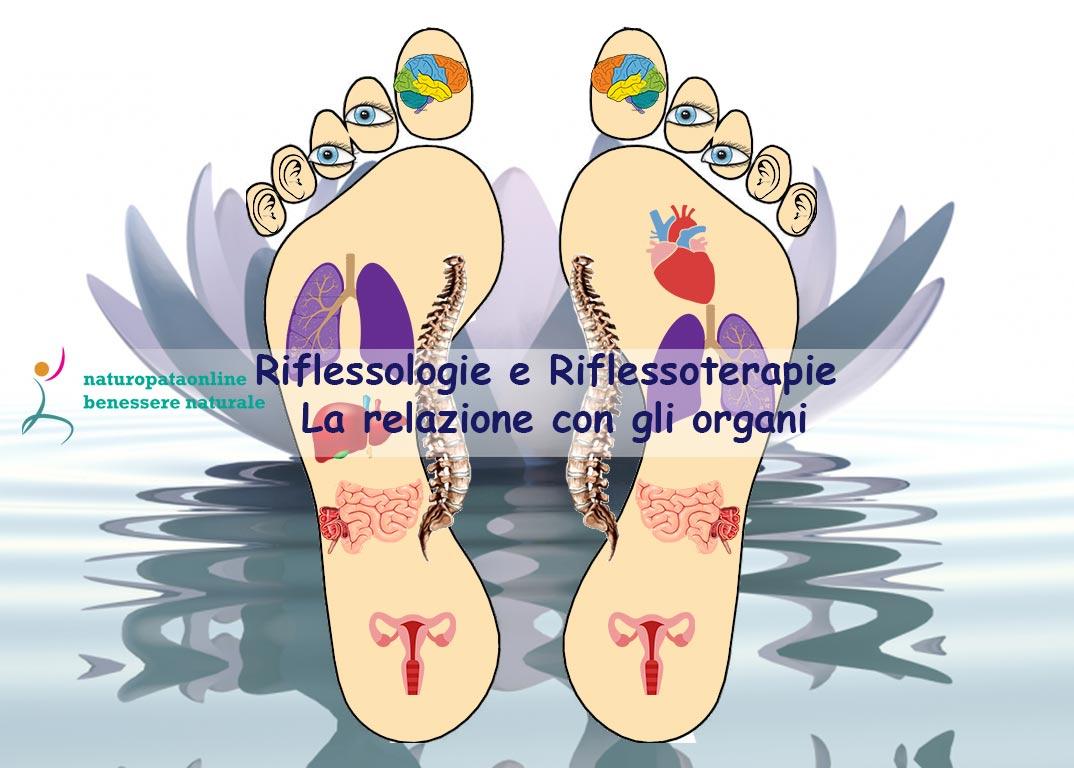 Riflessologie e Riflessoterapie