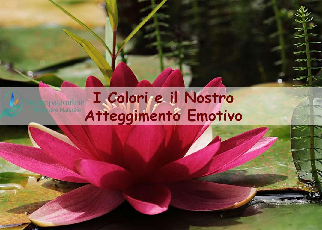 I colori e il nostro atteggiamento emotivo