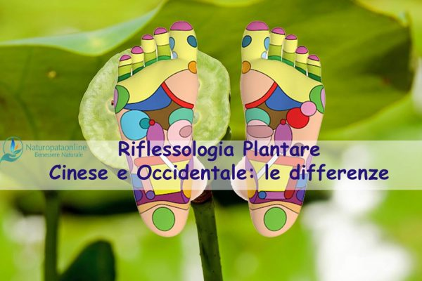 Riflessologia plantare cinese e occidentale: le differenze