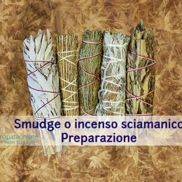 Smudge o incenso sciamanico: come prepararlo