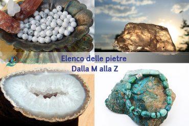 pietre in cristalloterapia